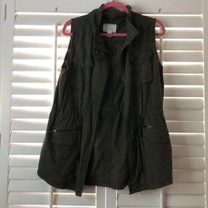 Sleeveless utility jacket from Nordstrom